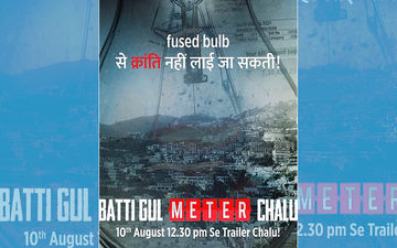 Batti Gul Meter Chalu Poster: Shahid Kapoor, Shraddha Kapoor & Yami Gautam Starrer Is Current, Light & Shocking!