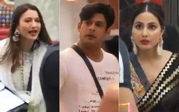 Bigg Boss 14 FIRST Nomination Task: Hina Khan, Sidharth Shukla Help Contestants Form Strategies; Gauahar Khan- Sidharth At Loggerheads Once Again-VIDEO