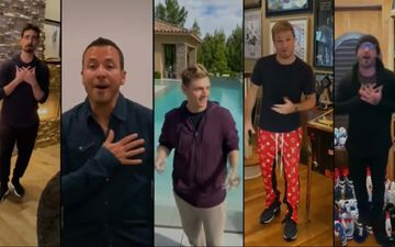 Backstreet Boys Recreate 'I Want It That Way'; Alicia Keys, Camila Cabello, Elton John Join In From Their Living Rooms – SHUGA SWEET