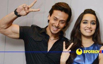 Tiger Shroff & Shraddha Kapoor get busy promoting Baaghi
