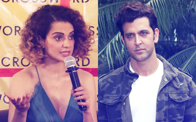 "Kangana Ranaut Fires A Salvo At Hrithik Roshan; ""People Who Keep Wives As Trophies & Young Girls As Mistresses Should Be Punished"""