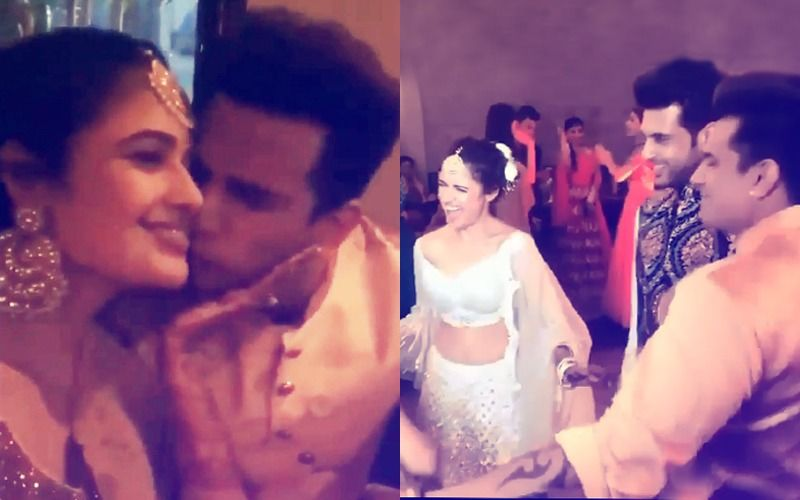 Prince Narula-Yuvika Chaudhary Sangeet Ceremony: Lovebirds Get Mushy And Groove The Night Away – Inside Videos