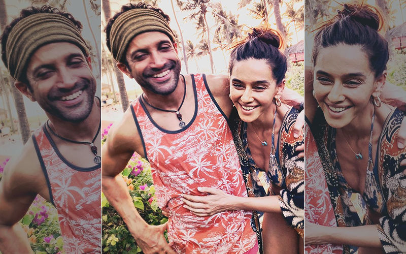 Beach Bums Farhan Akhtar-Shibani Dandekar Look Like The Happiest Couple On The Block In This Picture