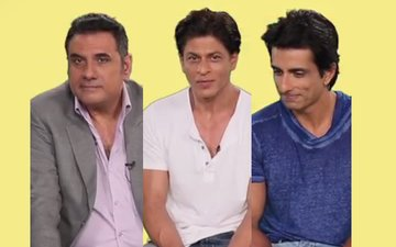 Shahrukh, Boman And Sonu Get Beatboxing Lessons