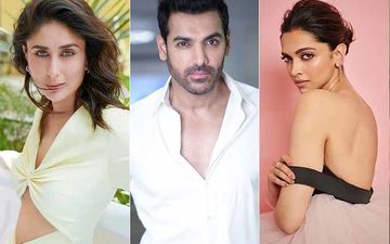 Flashback Friday: Spot Kareena Kapoor Khan, John Abraham And Deepika Padukone In This Unrecognisable Picture