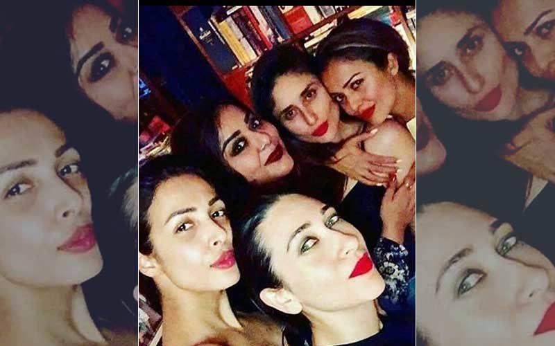 Malaika Arora Misses BFFs Kareena Kapoor Khan, Amrita Arora, Karisma Kapoor; Shares A 'Pouty' Throwback Picture