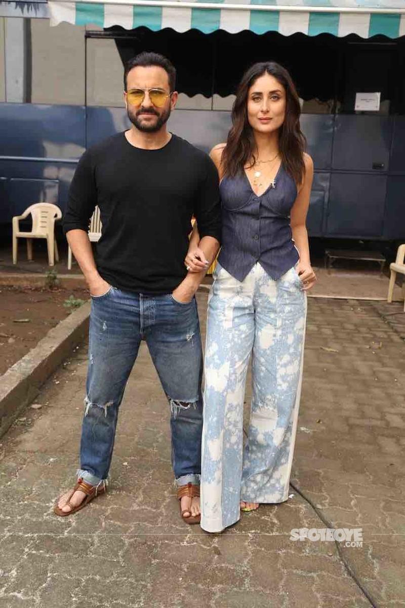Kareena Kapoor Khan with Saif Ali Khan
