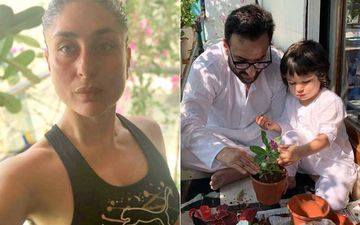 Coronavirus Lockdown: Saif Ali Khan Coaxing Kareena Kapoor Khan To Give Some Yoga Lessons, Says ' Chasing Taimur Is Also A Good Workout'