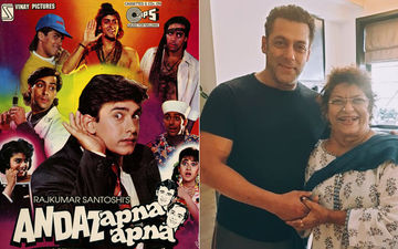 Being Human Indeed: Salman Khan Ends Andaz Apna Apna Bitterness Completely, Promises Work To Masterji Saroj Khan