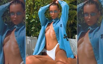 Braless Bella Hadid Leaves Little To Imagination While Soaking In The Sun; Winters Were Never So Hot