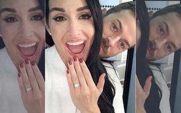 WWE Star Nikki Bella And John Cena's Ex Gets Engaged To Beau Artem Chigvintsev; Flaunts Her Sparkling Ring