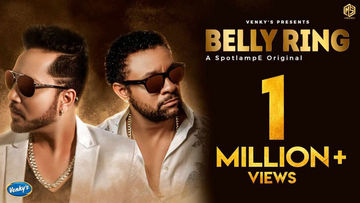 Belly Ring: Mika Singh Ft. Shaggy Clocks 1 Million Views on YouTube
