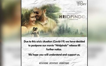 Shieladitya Moulik's Next Film Hripindo Release Postponed Due To Coronavirus
