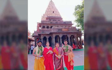Raj Chakraborty, Subhashree Ganguly Seeks Blessings At Mahakal Temple In Ujjain