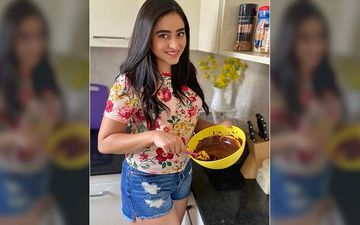 Actress Ridhima Ghosh Bakes Chocolate Chip Cookies For Her Mother
