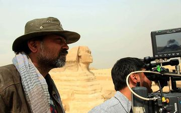 Srijit Mukherji Shares Behind The Scene Picture From His Film Mishawr Rawhoshyo
