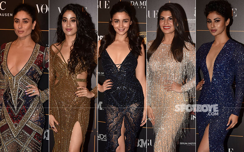 BEST DRESSED And WORST DRESSED At Vogue Women Of The Year Awards 2018: Kareena Kapoor Khan, Janhvi Kapoor, Alia Bhatt, Jacqueline Fernandez Or Mouni Roy?