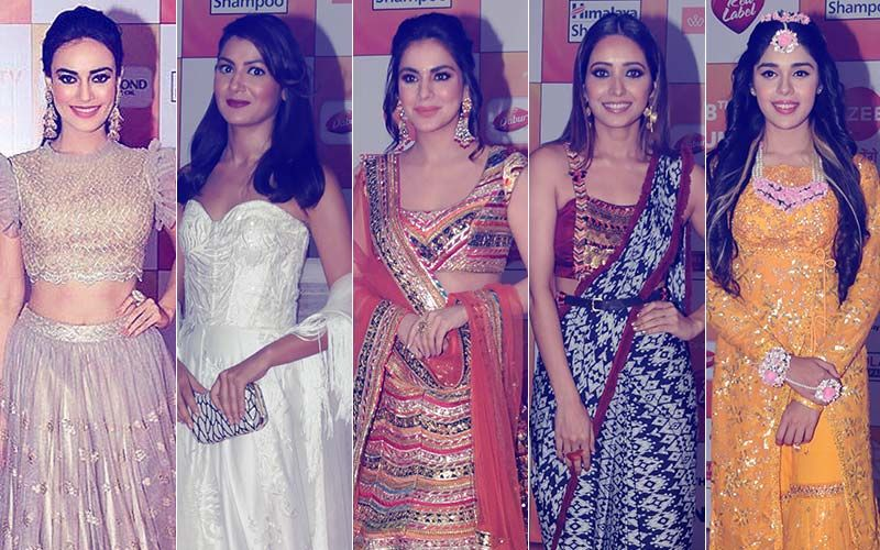 BEST DRESSED AND WORST DRESSED At Zee Rishtey Awards 2018: Surbhi Jyoti, Sriti Jha, Shraddha Arya, Asha Negi Or Eisha Singh?