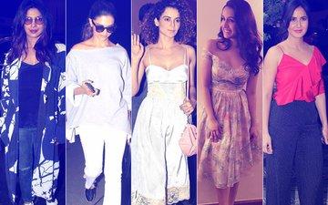 BEST DRESSED & WORST DRESSED: Priyanka Chopra, Deepika Padukone, Kangana Ranaut, Shraddha Kapoor Or Katrina Kaif?