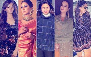 BEST DRESSED & WORST DRESSED Of The Week: Helly Shah, Hina Khan, Divyanka Tripathi, Sana Khan Or Niti Taylor?