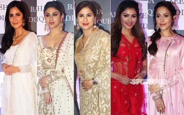 BEST DRESSED & WORST DRESSED At Baba Siddique's Iftaar Bash: Katrina Kaif, Mouni Roy, Urmila Matondkar, Urvashi Rautela Or Nushrat Bharucha?