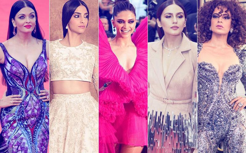 BEST DRESSED & WORST DRESSED At Cannes 2018: Aishwarya Rai, Sonam Kapoor, Deepika Padukone, Huma Qureshi Or Kangana Ranaut?