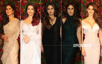 BEST DRESSED & WORST DRESSED At Deepika Padukone-Ranveer Singh's Bollywood Party: Katrina Kaif, Aishwarya Rai Bachchan, Mira Rajput, Kareena Kapoor Or Disha Patani?