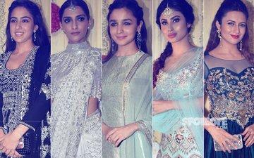 BEST DRESSED & WORST DRESSED AT Ekta Kapoor's Diwali Bash: Sara Ali Khan, Sonam Kapoor, Alia Bhatt, Mouni Roy Or Divyanka Tripathi?