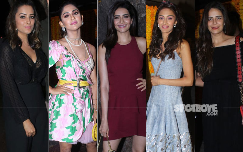 BEST DRESSED & WORST DRESSED At Ekta Kapoor's Birthday Bash: Erica Fernandes, Krystle Dsouza, Karishma Tanna, Anita Hassanandani Or Mona Singh?