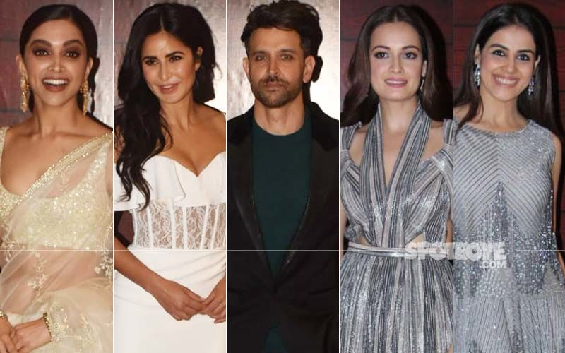 BEST DRESSED & WORST DRESSED At Javed Akhtar's 75TH Birthday Party: Deepika Padukone, Katrina Kaif, Hrithik Roshan, Dia Mirza Or Genelia Deshmukh?