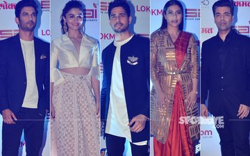 BEST DRESSED OR WORST DRESSED AT Lokmat Most Stylish Awards: Sushant Singh Rajput, Alia Bhatt, Sidharth Malhotra, Kajol Or Karan Johar?