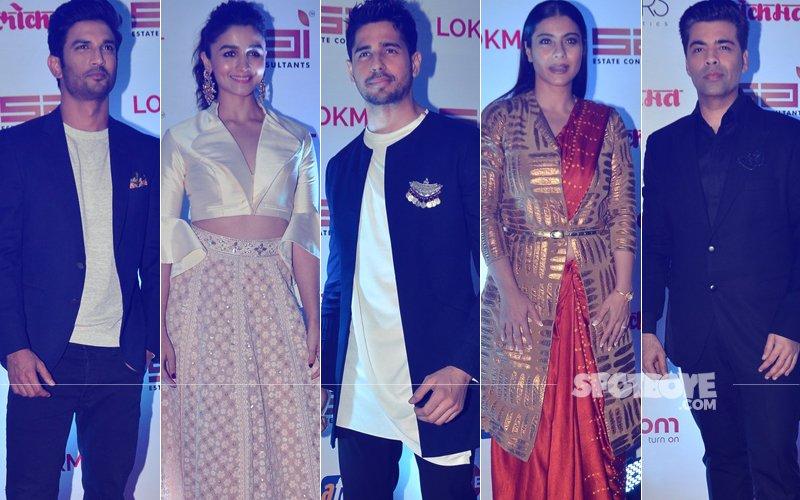 BEST DRESSED OR WORST DRESSED AT Lokmat Most Stylish Awards: Sushant Singh Rajput, Alia Bhatt, Sidharth Malhotra, Kajol Or Karan Johar?