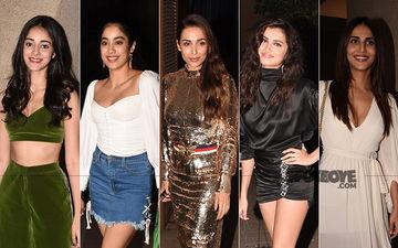 BEST DRESSED & WORST DRESSED At Punit Malhotra's Bash: Ananya Panday, Janhvi Kapoor, Malaika Arora, Tara Sutaria Or Vaani Kapoor?