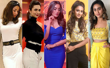 BEST DRESSED & WORST DRESSED Of The Week: Hina Khan, Divyanka Tripathi, Surbhi Jyoti, Erica Fernandes Or Krystle D'Souza?