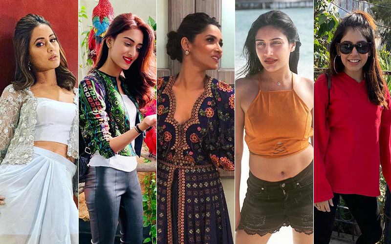BEST DRESSED & WORST DRESSED Of The Week: Hina Khan, Erica Fernandes, Ankita Lokhande, Surbhi Chandna Or Niti Taylor?