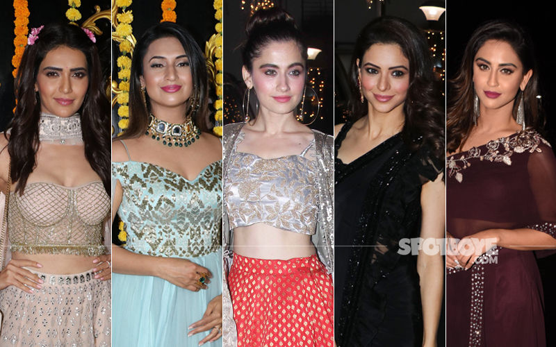 BEST DRESSED & WORST DRESSED Of The Week: Karishma Tanna, Divyanka Tripathi, Sanjeeda Shaikh, Aamna Sharif Or Krystle D'Souza?