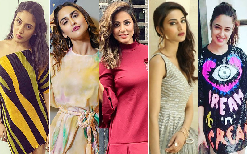 BEST DRESSED & WORST DRESSED Of The Week: Surbhi Chandna, Krystle Dsouza, Hina Khan, Erica Fernandes Or Yuvika Chaudhary?