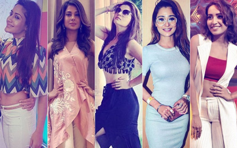 BEST DRESSED OR WORST DRESSED Of The Week: Surbhi Chandna, Jennifer Winget, Rubina Dilaik, Sara Khan Or Asha Negi?