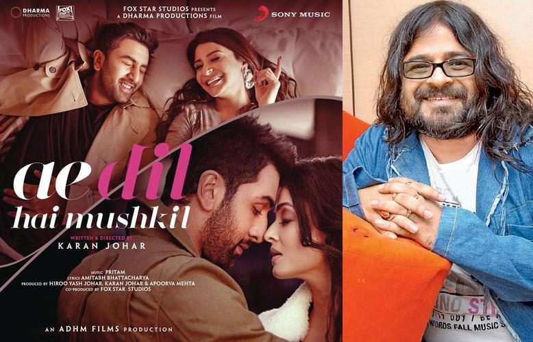 best music director pritam for ae dil hai mushkil