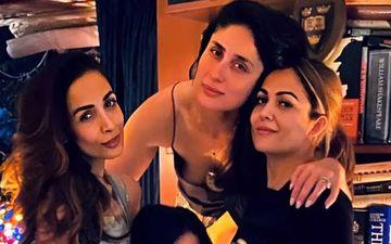 Coronavirus Outbreak: Kareena Kapoor Khan, Malaika And Amrita Arora Find A Way To Hang Out Together While Social Distancing