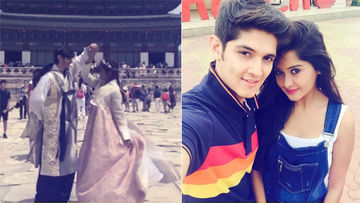 Yeh Rishta Kya Kehlata Hai Couple Rohan Mehra & Kanchi Singh Are Having A Gala Time In South Korea