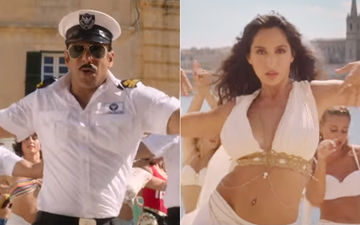 Bharat Song, Turpeya: Uniform Clad Salman Khan Looks Charming As Ever, Nora Fatehi Turns On The Heat