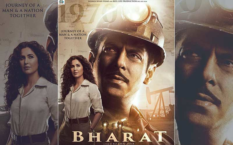 Bharat Third Poster: Katrina Kaif Makes An Entry; Salman Sports A Moustache