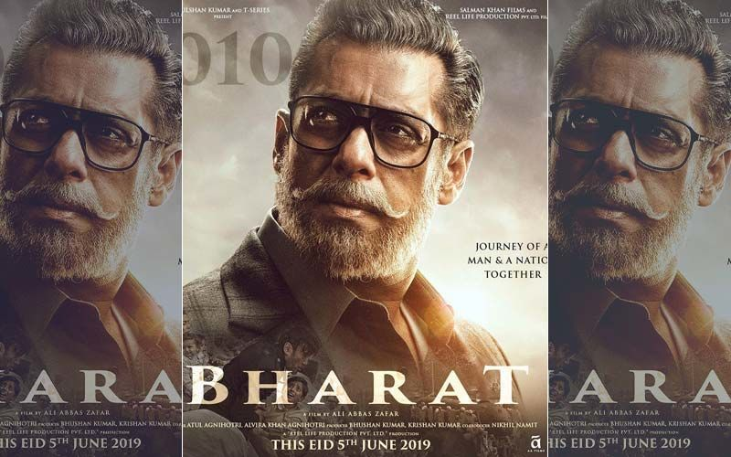 फिल्म 'भारत' का पहला पोस्टर आया सामने, बूढ़े व्यक्ति के लुक में नजर आये सलमान खान