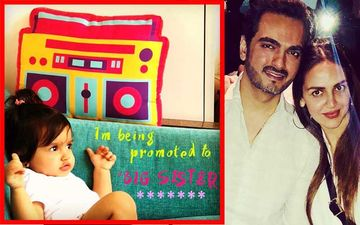 "Esha Deol Announces 2nd Pregnancy: Daughter Radhya Is ""Promoted To Big Sister"""