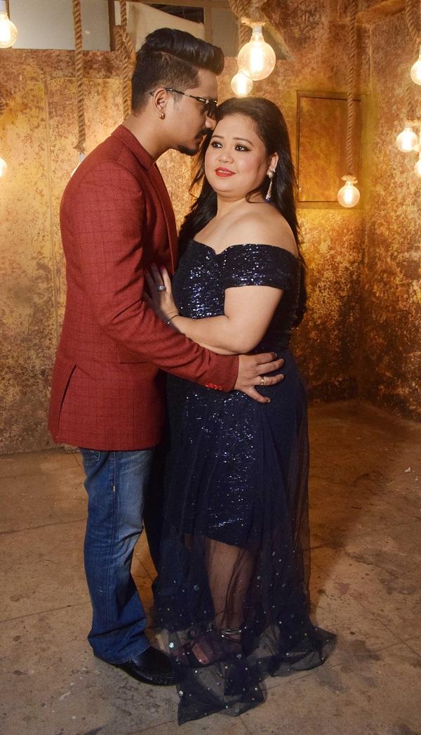 bharti and harsh wedding photoshoot
