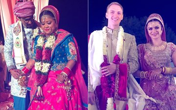 10 Beautiful Moments From Bharti Singh-Haarsh Limbachiyaa, Aashka Goradia-Brent Goble's Weddings