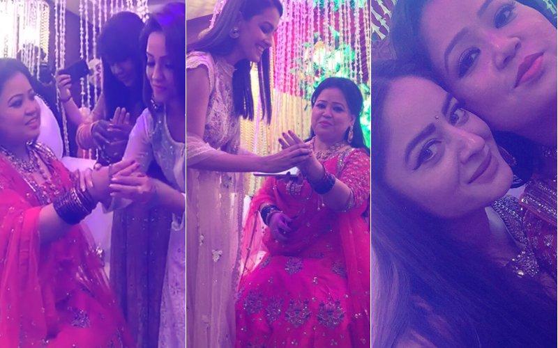 Anita Hassanandani, Adaa Khan & Mahi Vij Have GIGGLY GIRLY FUN At Bharti Singh's House