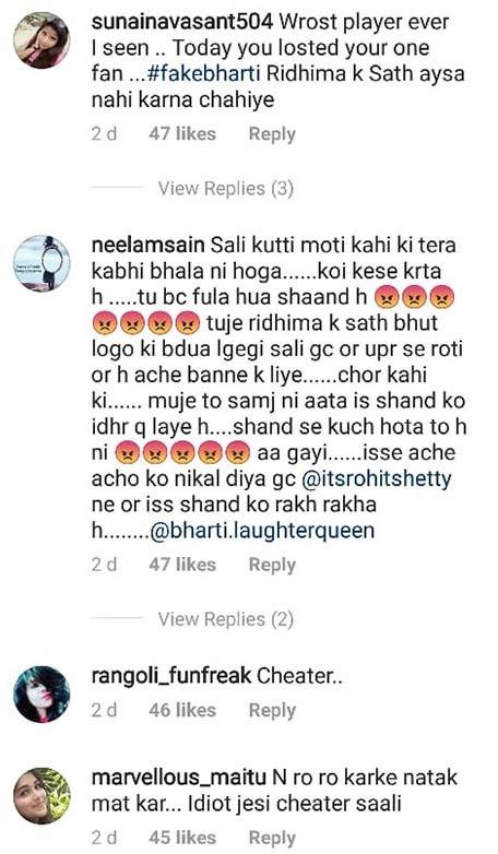 bharti singh trolled