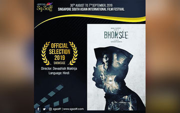 Bhonsle: Santosh Juvekar's Film Is Officially Selected For 3rd Singapore South Asian International Film Festival 2019